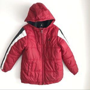 Air Jordan Youth Medium Jumpman Puffer Jacket Coat